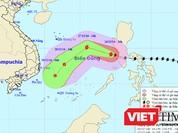 Bão Nockten đã đi vào Biển Đông, công bố 8 vùng nguy hiểm