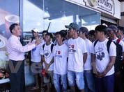 Thêm 165 ngư dân Việt Nam được Indonesia trao trả trước Tết Đinh Dậu