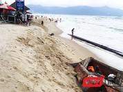 Biển du lịch Đà Nẵng đang bị xâm thực nghiêm trọng!