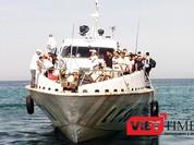 Tàu siêu tốc tuyến Lý Sơn-Sa Kỳ vừa đi vào hoạt động đã chết máy giữa biển
