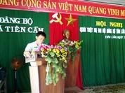 """Quảng Nam: Chủ tịch xã """"tái"""" xin nghỉ công tác"""