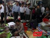 Đà Nẵng: Chủ tịch TP xuống chợ nghe tiểu thương ý kiến!