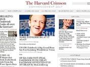 Hacker chọc tức ông chủ Facebook trên báo trường Harvard