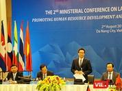 Khai mạc Hội nghị Bộ trưởng về Hợp tác lao động 5 nước Tiểu vùng sông Mê Kông lần 2