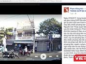 CSGT Đà Nẵng dùng facebook truy tìm đối tượng đứng trên yên điều khiển xe máy