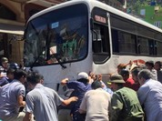 """Hải Phòng: Thông tin mới về vụ xe khách """"điên"""" gây tai nạn"""