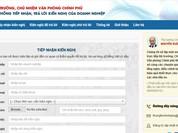 """Lập tổ công tác tiếp nhận xử lý """"mọi vấn đề"""" của DN trên Cổng TTĐT Chính phủ"""