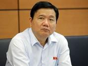 Thi hành kỷ luật ông Đinh La Thăng: Cảnh cáo, cho thôi chức Ủy viên Bộ Chính trị