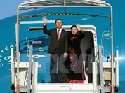 Chủ tịch nước Trần Đại Quang đã đến Bắc Kinh, bắt đầu chuyến thăm cấp Nhà nước tới Trung Quốc