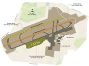 Sân bay Tân Sơn Nhất quá tải sao lại xây nhà hàng, sân golf?