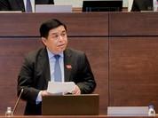 """Đại biểu chất vấn """"cụ thể và nhẹ nhàng"""" với Bộ trưởng Nguyễn Chí Dũng"""