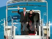 Chủ tịch nước lên đường thăm chính thức Liên bang Nga và Belarus