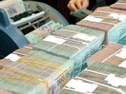 Bội chi ngân sách tăng mạnh trong tháng qua
