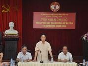 Bộ trưởng Trần Hồng Hà lên tiếng về danh sách cán bộ đi chơi golf