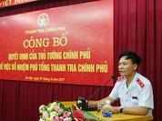 Ông Bùi Ngọc Lam nhậm chức Phó Tổng Thanh tra Chính phủ