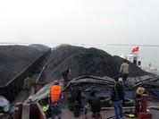 Cảnh sát biển tạm giữ gần 3.000 tấn than không đủ nguồn gốc