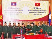 Bộ trưởng Quốc phòng Lào và Campuchia cùng lúc thăm Việt Nam