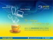 Trải nghiệm eBanking cùng Nam a Bank