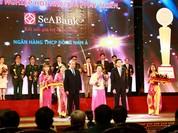 """SeABank được trao thưởng """"Doanh nghiệp hội nhập và phát triển 2016"""""""