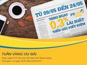 PVcomBank tặng 0,3% lãi suất tiết kiệm cho khách hàng