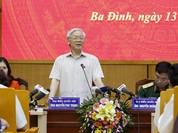 Tổng Bí thư nói về việc kỷ luật ông Đinh La Thăng