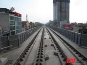 Đường sắt trên cao Cát Linh - Hà Đông: Chưa hoạt động đã rỉ sét