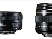 Hé lộ hai ống kính Yongnuo 40mm f/2.8 và 100mm f/2 cho DSLR Nikon