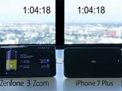 Video: So sánh thời lượng pin ZenFone 3 Zoom và iPhone 7 Plus