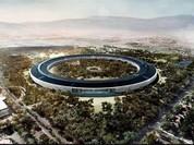 Video 4K: trụ sở Apple sắp hoàn thành nhìn từ trên cao