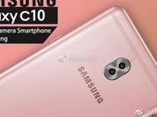 Galaxy C10 là điện thoại đầu tiên của Samsung có camera kép