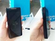 Samsung sản xuất điện thoại nắp gập giống Galaxy S8