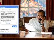 """Tổng thống Obama lên """"Phây"""" tiếp dân"""