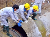 Lần thứ 19 cắt nước, Viwasupco không xác nhận đường ống nước sông Đà bị vỡ