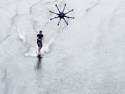 Video: Lướt sóng bằng drone