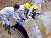 Đường ống nước Sông Đà lại vỡ, Lãnh đạo vinaconex phủ nhận