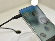 Sharp công bố smartphone màn hình cong rất độc đáo
