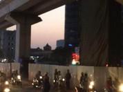 Công nhân rơi xuống đường tại tuyến đường sắt Cát Linh- Hà Đông đã qua đời
