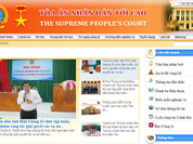 Tòa án nhân dân tối cao ra mắt trang tin điện tử về án lệ