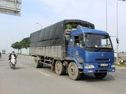 Xử phạt nghiêm xe tải chưa lắp giám sát hành trình
