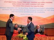 29 mặt hàng Việt Nam được miễn thuế nhập khẩu vào Campuchia