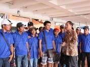Thêm 39 ngư dân Việt được  Indonesia  trao trả