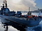 Hình ảnh tuyệt đẹp về đội chiến hạm Nga vừa chu du Châu Á
