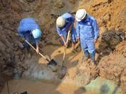 Đường ống nước sạch sông Đà số 2 khó đúng hẹn