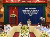 Thủ tướng Nguyễn Xuân Phúc thăm và làm việc tại Hà Nam