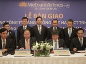 Chính thức bàn giao Vietnam Airlines từ Cty TNHH sang Cty cổ phần