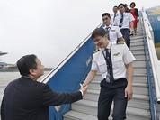 Vietnam Airlines đón nhận máy bay Airbus A350 thứ 5