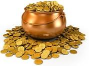 Giá vàng thủng thẳng, giá đô nhô cao