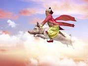 Hài hước khi xem Vân Dung cưỡi heo lên chầu trời