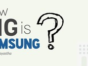Công ty Samsung lớn cỡ nào?