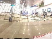 Vì sao dàn giáo tại sân bay Tân Sơn Nhất đổ sập?